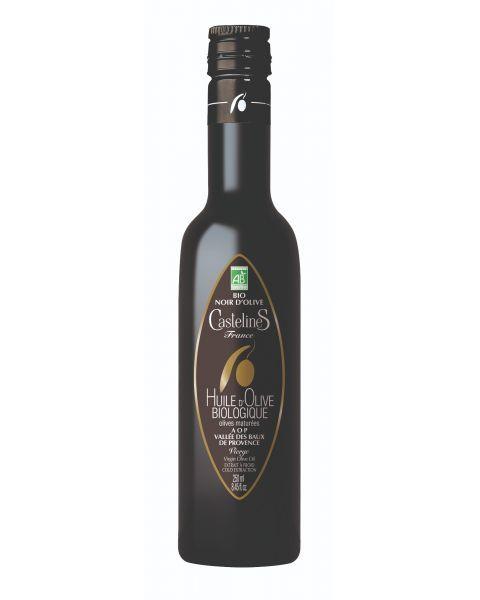 Ekologiškas ypač tyras alyvuogių aliejus CASTELAS Bio Noir AOP, 250 ml