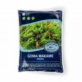 Marinuotų jūros dumblių salotos su sezamu GOMA WAKAME, 1 kg