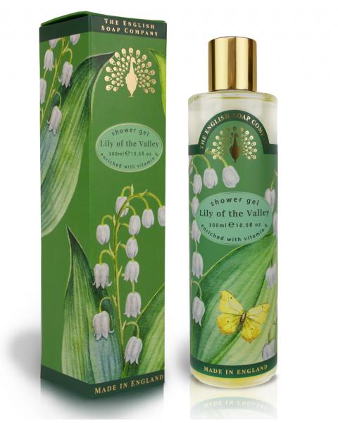 Dušo želė ENGLISH SOAP pakalnučių aromato, 300 ml