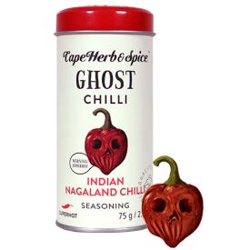 Prieskonių mišinys CAPE HERB & SPICE RUB Ghost chilli, 75g