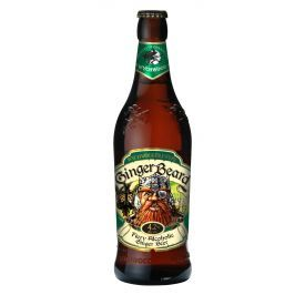 TRADITIONAL ALE stiliaus alus SU IMBIERU Wychwood Ginger Beard 4,2%, 500 ml