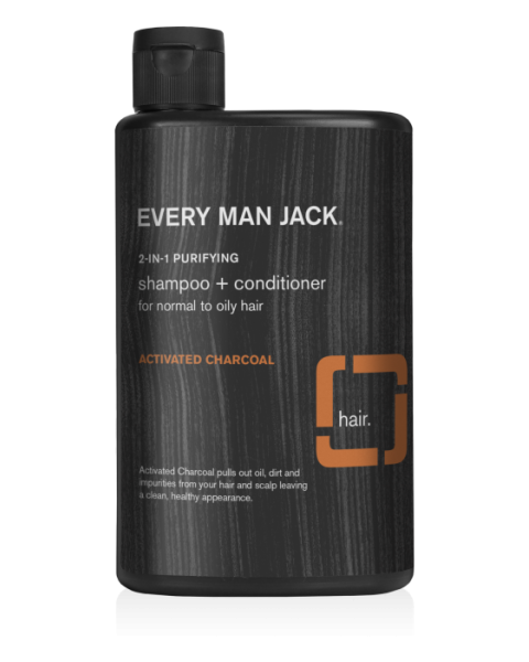 Kasdienis šampūnas ir kūno prausiklis EVERY MAN JACK su citrusiniais vaisiais, 400 ml