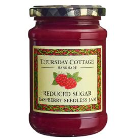 Besėklių aviečių džemas THURSDAY COTTAGE su sumažintu cukraus kiekiu, 315 g