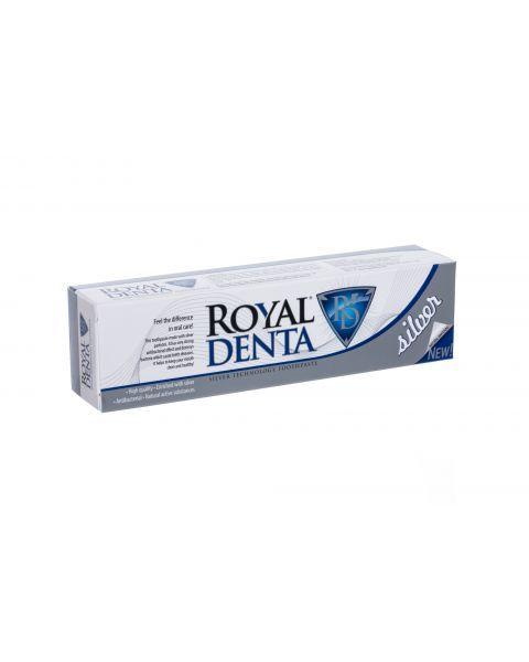 Dantų pasta ROYAL DENTA Silver su sidabru, 130 g