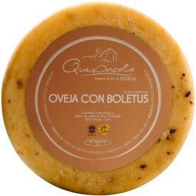 Brandintas avių pieno sūris su baravykais QuesOncala, 50% rieb.s.m.