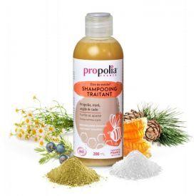 Gydomasis plaukų šampūnas PROPOLIA, 200 ml