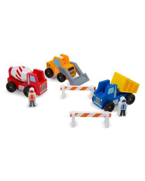 Statybinio transporto rinkinys MELISSA & DOUG, 1 vnt. 4