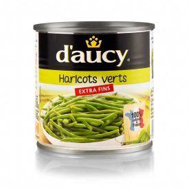 Konservuotos žaliosios šparaginės pupelės DAUCY, 400 g