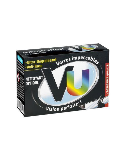 Nepaliekančios pėdsakų servetėlės akiniams valyti VU, 24 vnt.