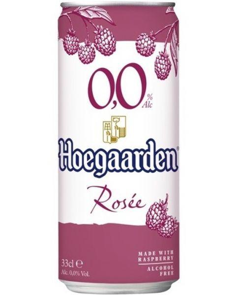 Nealkoholinis kvietinis alus HOEGAARDEN Rosee 0%,330ml