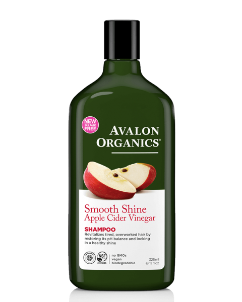 Blizgesio suteikiantis šampūnas AVALON su obuolių sidru, 325 ml