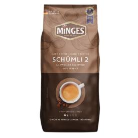 Kavos pupelės MINGES Cafe Creme Schumli2, 1kg.