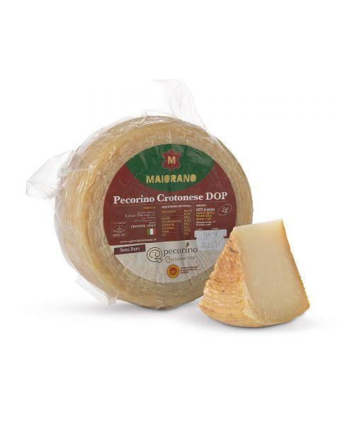 """Kietasis avių pieno sūris """"CROTONESE MAIORANO"""" DOP, brandintas 4 mėn, 1 kg"""