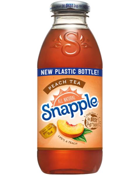 Arbatos gėrimas SNAPPLE persikų skonio, 473 ml