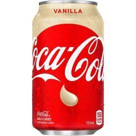 COCA COLA gazuotas gaivusis gėrimas vanilės skonio, 355ml