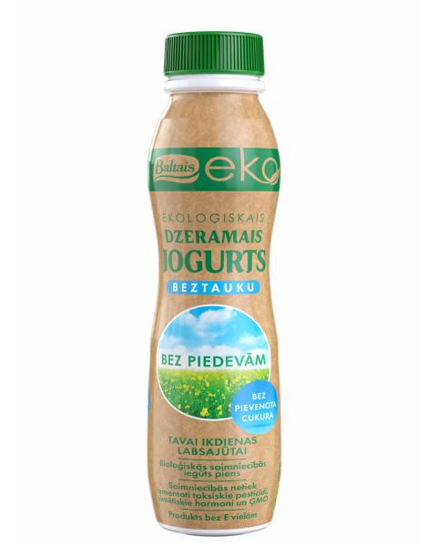 Ekologiškas natūralus geriamasis jogurtas BALTAIS, 290g