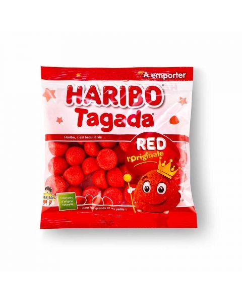 Guminukai HARIBO Tagada red, 120 g