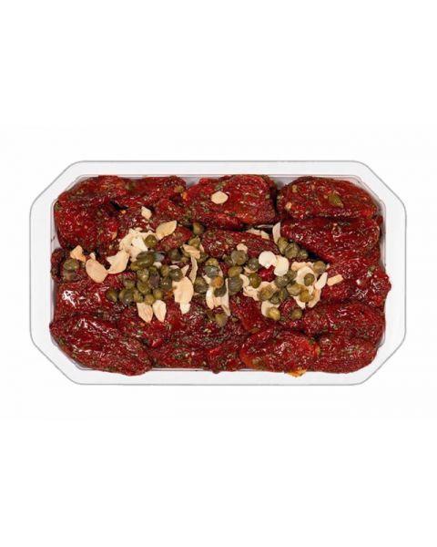 Saulėje džiovinti pomidorai saulėgrąžų aliejuje PUNTO VERDE, 1kg