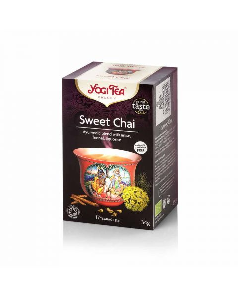 Ekologiška arbata YOGI TEA SWEET CHAI 34g