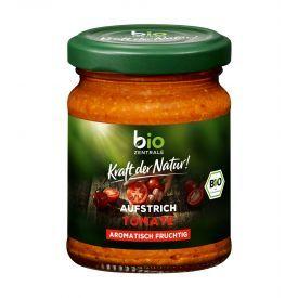 Ekologiška saulėje džiovintų pomidorų užtepėlė BIOZENTRALE, 125 g