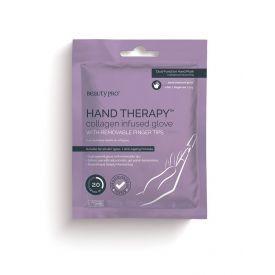 Rankų kaukė BEAUTY PRO Hand Therapy su kolagenu,  17 g