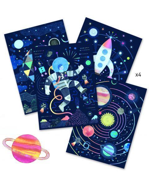 Įtrinami paveikslėliai DJECO Cosmic Mission (DJ09727) 2