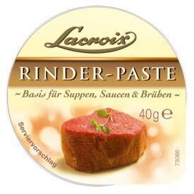 """Koncentruota jautienos pasta LACROIX """"Rinder"""" sriuboms, padažams ar sultiniams, 40 g"""