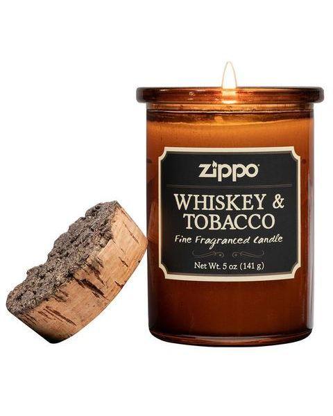 """Aromatinė žvakė ZIPPO """"Whiskey & Tobacco"""", 1 vnt."""
