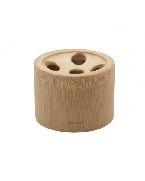 Bambukinis laikiklis 5 dantų šepetėliams SUZTAIN, 1 vnt.