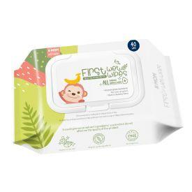Pirmosios kūdikių daiktų valymo servetėlės K-MOM(40 vnt.)