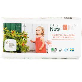 Sauskelnės EKO by NATY 4+ Maxi Plus 9-20 kg vaikams, 42 vnt.