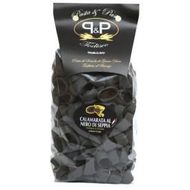 "Juodi makaronai Pasta&Pasta ""Calamarata nero di seppia"", 500 g"