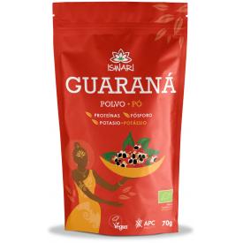Ekologiški guaranos milteliai ISWARI, 70g