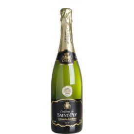 Putojantis sausas vynas Comtesse de Saint-Pey Crémant Brut 12%, 750ml
