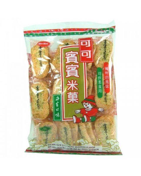 Ryžių krekeriai su jūros dumbliais BIN BIN, 150 g