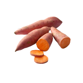 Ekologiškos saldžiosios bulvės FRESHWISE (fasuotos), 500g
