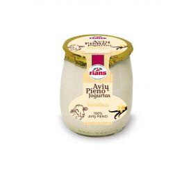 Avių pieno jogurtas RIANS su vanile, 115g