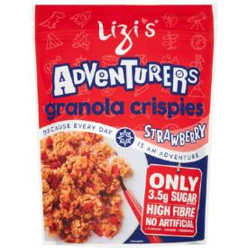 """Sausi pusryčiai su braškėmis LIZI'S """"Granola"""", 400 g"""
