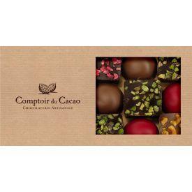 Šokolado rinkinys COMPTOIR du CACAO, su langeliu, 162 g