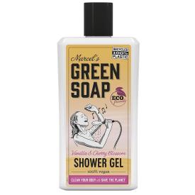 Dušo želė MARCELS GREEN SOAP su vanile ir vyšnių žiedais, 500 ml
