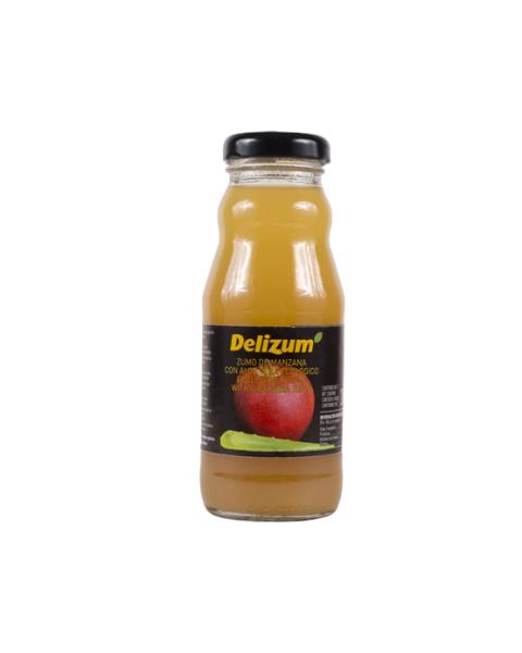 Ekologiškos obuolių ir alavijų sultys DELIZUM, 200ml