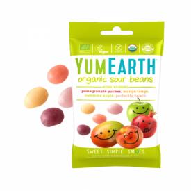 Ekologiški rūgštūs želė saldainiai YUMEARTH be gliuteno, 50 g