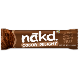 """Vaisių ir riešutų batonėlis NAKD su kakava """"Cocoa Delight"""", 35g"""