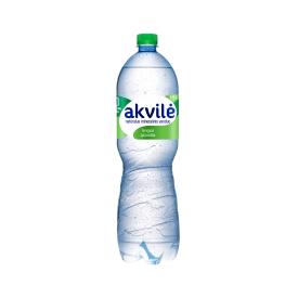 Lengvai gazuotas natūralus mineralinis vanduo AKVILĖ, 1,5L