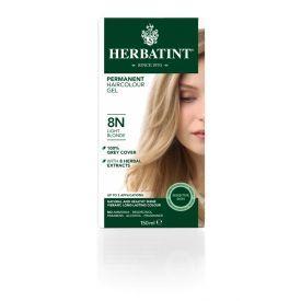 Plaukų dažai SU EKOLOGIŠKAIS EKSTRAKTAIS be amoniako Herbatint 8N šviesi blondinė, 150 ml