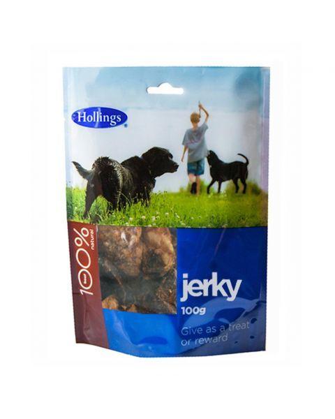 Džiovintos jautienos skanėstas šunims HOLLINGS, 100 g