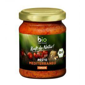 Ekologiškas viduržemio jūros pesto padažas BIOZENTRALE, 125 g