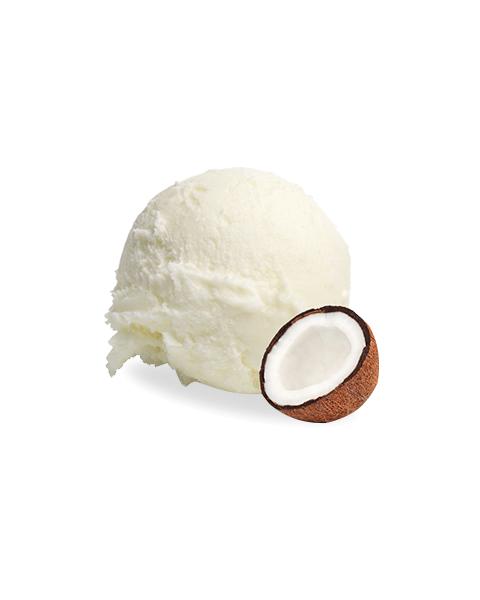 Macapuno kokosų skonio ledai LUNETA, 500g 2