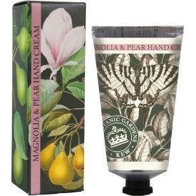 """Rankų kremas ENGLISH SOAP """"Kew Gardens"""" su magnolijomis ir kriaušėmis, 75 ml"""