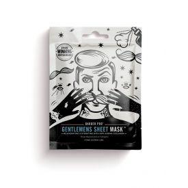 Jauninamoji ir drėkinamoji kaukė vyrams BEAUTY PRO Barber Pro su kolagenu, 23 g